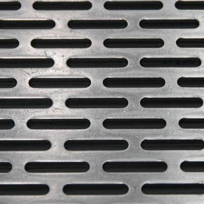 L25440 Perforated Metal Sheet: 25mm Slot, 40% Open Area