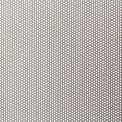 R01623 Perforated Metal Sheet: 1.6mm Round, 23% Open Area