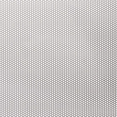 R02040 Perforated Metal Sheet: 2.0mm Round, 40% Open Area
