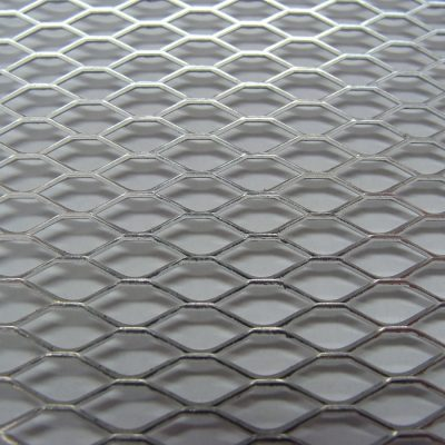 354 Small Mesh Expanded Metal Sheet
