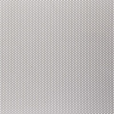 R01636 Perforated Metal Sheet: 1.6mm Round, 36% Open Area